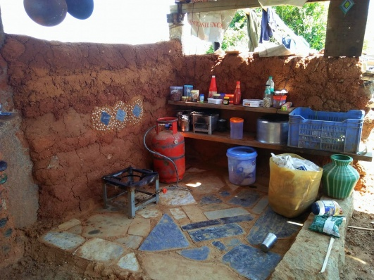 Beginnings of the farmhouse kitchen