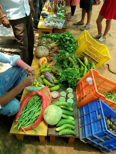 The start of the organic market in Bangalore (2)